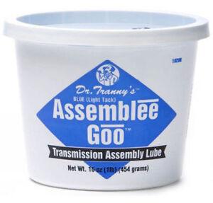 DR TRANNY ASSEMBLEE GOO BLUE  TRANSMISSION ASSEMBLY LUBE  (M465TB)
