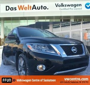 2013 Nissan Pathfinder Platinum 4X4, heated steering wheel, h...