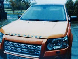 Freelander 2 Limited Edition Orange & Black