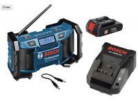 Bosch GML Soundboxx Pro Radio AM/FM + Bosch GWS 700W Angle Grinder *GIFT SET* (2 for the price of 1)