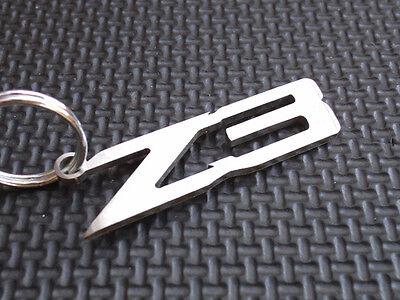 """Schlüsselanhänger /""""3.0/"""" 3,0 für BMW Z4 E85 E86 Z3 X5 M54 B30 Edelstahl gebürstet"""