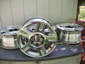 "17 "" FORD F150 6 LUG ALUMINUM WHEELS"