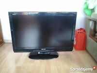 Sharp 40 Inch LCD HD TV, Freeview, Remote. Good condition. NO OFFERS