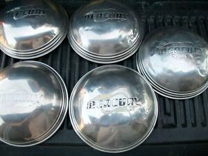 MERCURY HUBCAPS ARE FOR 1947-1948 CARS & FIT MANY OTHER YEARS