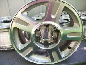 "17 "" FORD F150 6 LUG ALUMINUM WHEELS Kingston Kingston Area image 2"