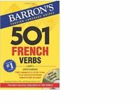 New - Barron's 501 French Verbs 6th Edn with CD Rom
