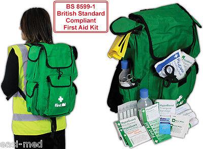 BS-8599-1 Medium Workplace First Aid Kit Rucksack type Bag