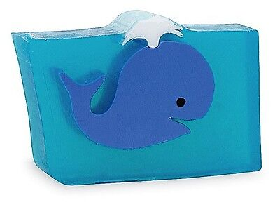 Primal Elements BLUE WHALE Large 7 oz.+ not 6.0 Scented Handmade Glycerin Soap
