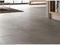 Premium Grey Porcelain Tiles 600 x 300mm x 7 = 7sqm Coverage