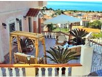 Seaside 3 bed property for sale in Italy. Owner's 75% finance guaranteed for any applicant.