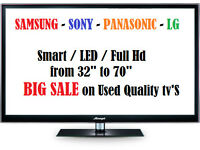 Samsung LG Sony Toshiba Panasonic TV LCD LED PLASMA 4K HD SMART *SALE*