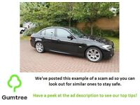 BLACK BMW 318D M 2010 -- Read ad decsription before replying!!