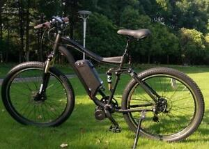 Full Suspension Electric Bike Mid Drive
