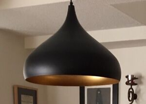 Very cool MCM style pendant light fixture, nearly new