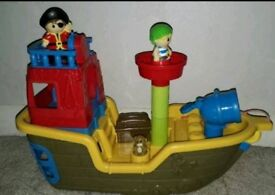 Megabloks pirate ship