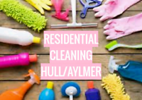 Residential Cleaner Available