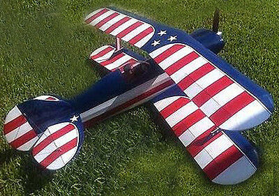 Giant 1/3 Scale ACE Weeks Special Aerobatic Biplane Plans,Templates,Instructions