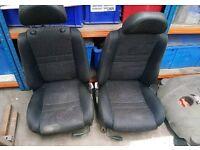 Mgtf front seats