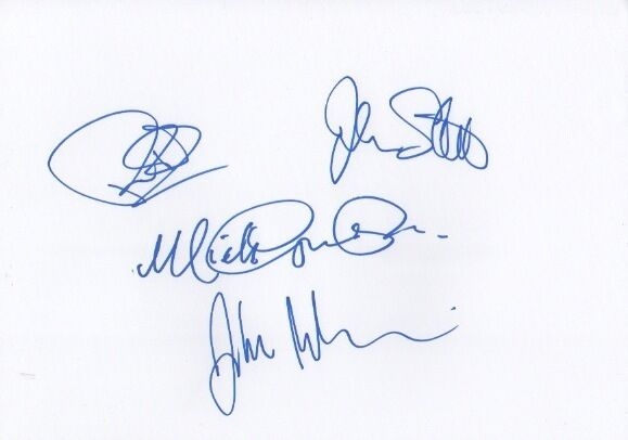 Animals & Friends Autogramme signed A4 Karteikarte