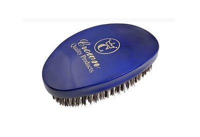360 Gold Wave Brush - Caesar - Blue Medium (Crown Quality Products - CQP)