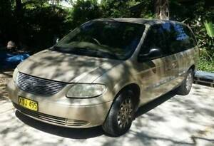 2001 Chrysler Voyager Wagon 7 Seater Automatic Chatswood Willoughby Area Preview