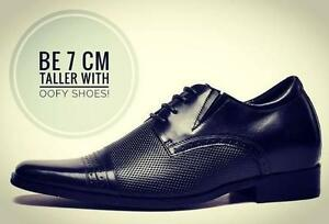 $99 - Height Increasing Shoes for Man - Be 2.75 inch (7cm) Taller with OOFY shoes