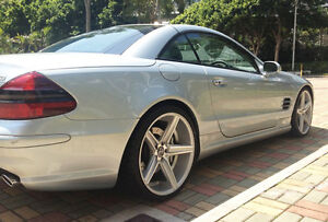 20 034 Niche Apex Wheels Mercedes Benz R230 Sl 500 550 Amg
