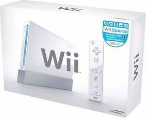 Wii Console White w/ Games Moil Darwin City Preview