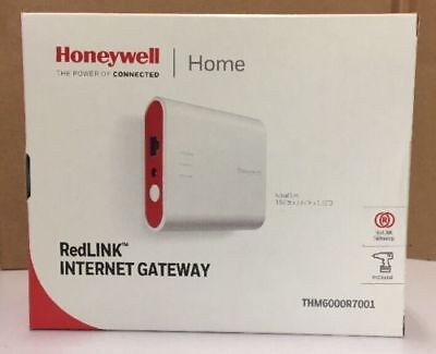 Honeywell THM6000R7001 RedLINK Gateway Ethernet Cable & Power Cord