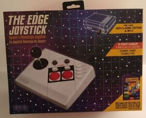 The Edge Joystick V2 - NES Classic Edition & Wii U - Brand New!