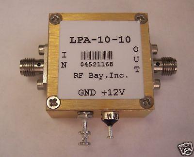 100mhz-10ghz Wideband Rf Amplifier Lpa-10-10 New Sma