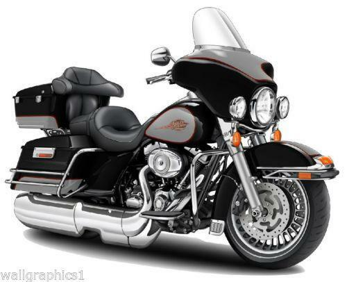 Harley Davidson Wall Decals Ebay