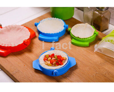 Hot Sale 3Pcs Dumpling Mould Dough Press DIY Meat Pie Pastry Empanada Mold US