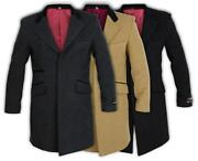 Mens Wool Coat Small