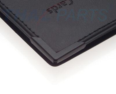 50er Pack Buchecke 22x22mm 3,5mm Füllhöhe schwarz