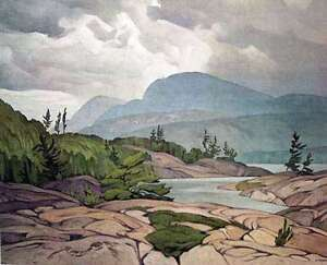 Assortment of Limited Edition Appraised A. J. Casson Lithographs