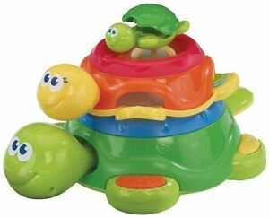 iPlay Turtle Stacker Toddler Instruments