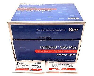 Optibond Solo Plus 100 Pack Unidose By Kerr Original