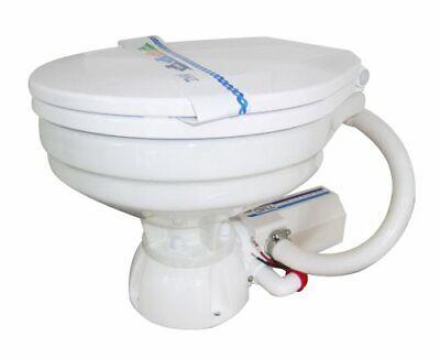 Wc Toilette Marino Eléctrico 24v Porcelana Blanco - para Barco Camper