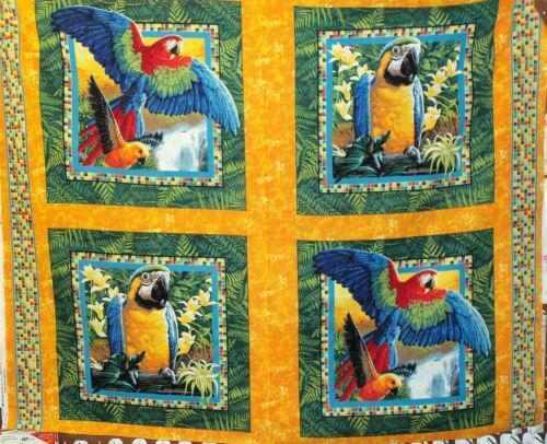 Bird Of Paradise Fabric Ebay