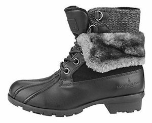 LONDON FOG - BOTTES HIVER - WINTER LACE UP BOOTS