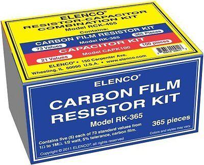 Elenco Rck-465 Resistorcapacitor Combo Kit