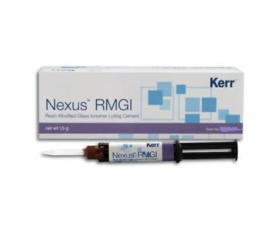 Kerr Nexus Rmgi Resin Modified Glassionomer Dental Cement 5gm