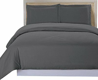 Utopia Bedding 3 Piece Queen Duvet Cover Set with 2 Pillow S