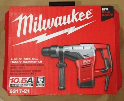 Milwaukee 5317-21 1-916 Sds-max Rotary Hammer--