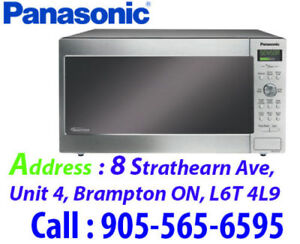 * Panasonic Prestige Countertop Microwave 1.6 Cu.Ft. Stainless