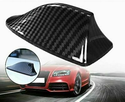 JDM Universal Carbon Fiber print Shark Fin Antenna Aerial Roof Decorative Cover