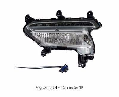 Fog Driving Light Lamp Driver Side Left LH for 10-12 Santa Fe