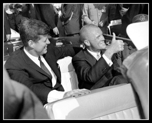 John Kennedy John Glenn Photo 8X10 President 1962 Nasa Astronaut