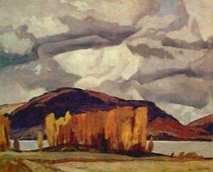 "A.J. Casson ""Kamaniskeg Lake Autumn"" Litho - Appraised at $575"